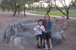 A Gneiss Bench to Sit On